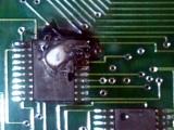 Burned Chip Repair